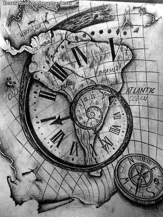 Tatuajes Y Diseños Mapas