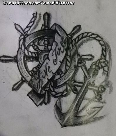 Tatuajes Y Diseños Con Timones