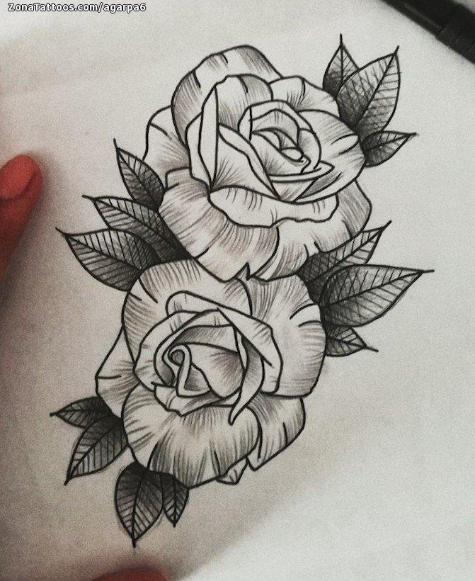 Diseno De Rosas Flores - Diseos-de-rosas