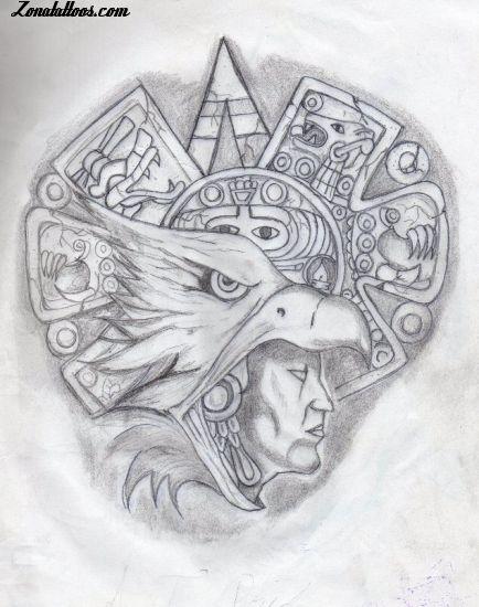 Diseño De Mayas Aztecas
