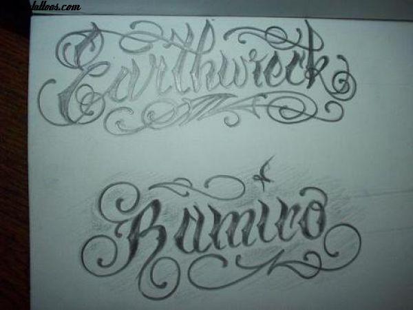 Letras Clasicas Para Tatuajes Imagui