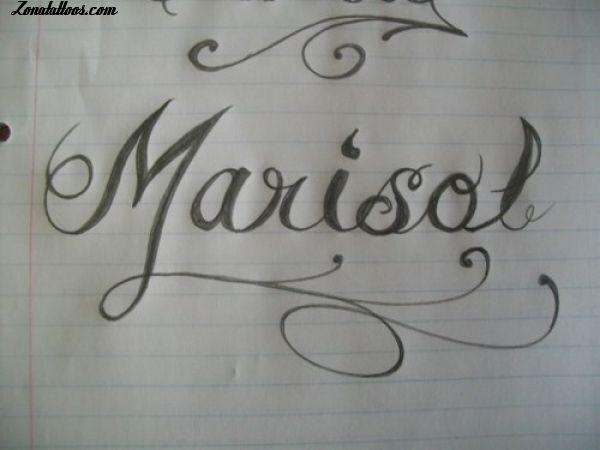 Imagenes Con El Nombre De Marisol Graffiti