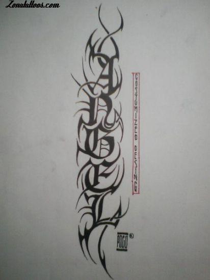 los tatuajes de yandel. tatuajes y letras chinas. Tan populares se han vuelto los tatuajes de letras