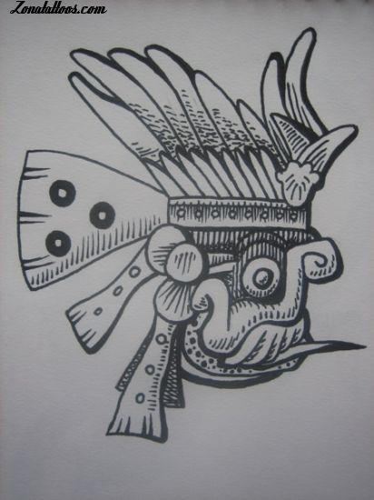Diseño De Aztecas Mayas Incas