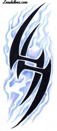 los tatuajes tribales. ZonaTattoos.com - Plantillas de tatuajes, tribales, hadas, animales,