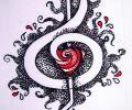 Tatuajes Y Diseños De Notas Musicales Clave De Sol Etc