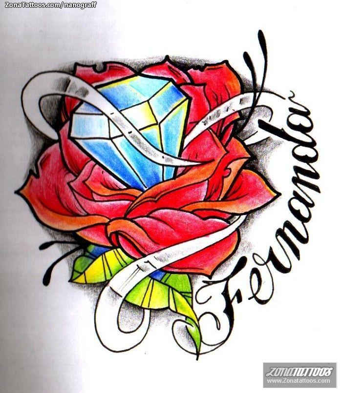 Tatuajes Y Diseños De Diamantes